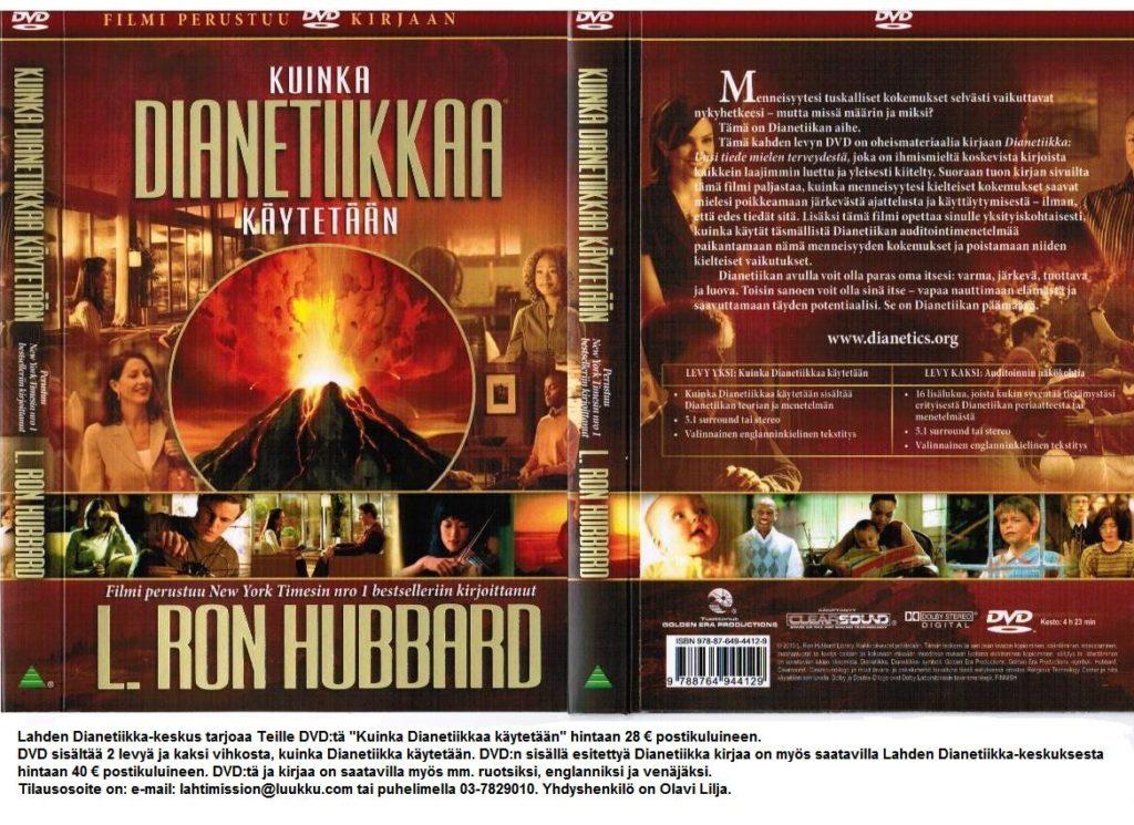 Dianetiikka DVD etukansi + takakansi