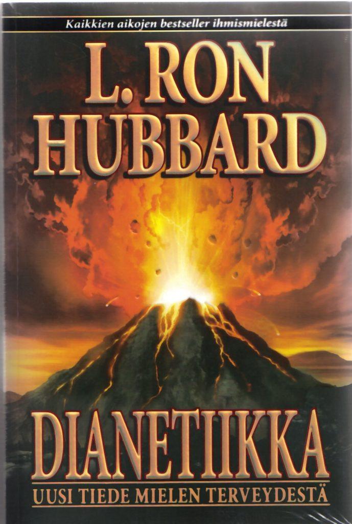 Dianetiikka kirja suomeksi. Hinta 35 euroa.